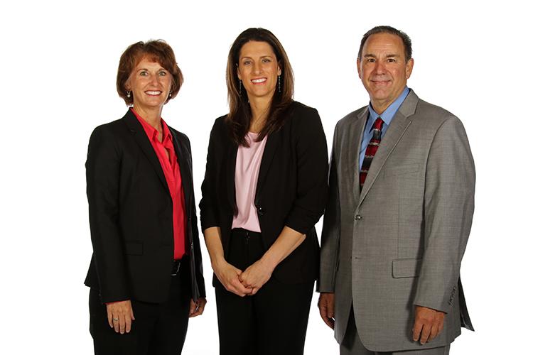 Gail Goestenkors, Stephanie White and Gary Kloppenburg
