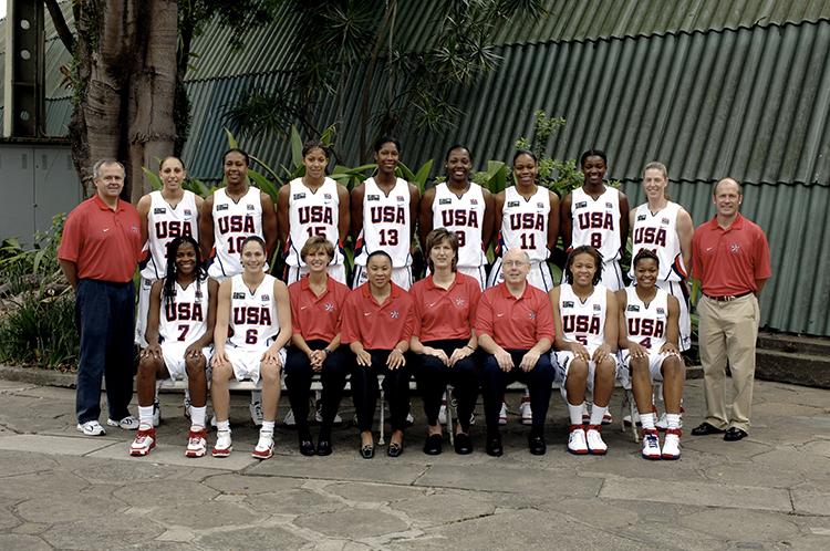 Goestenkors coaching the USA Women's National Team