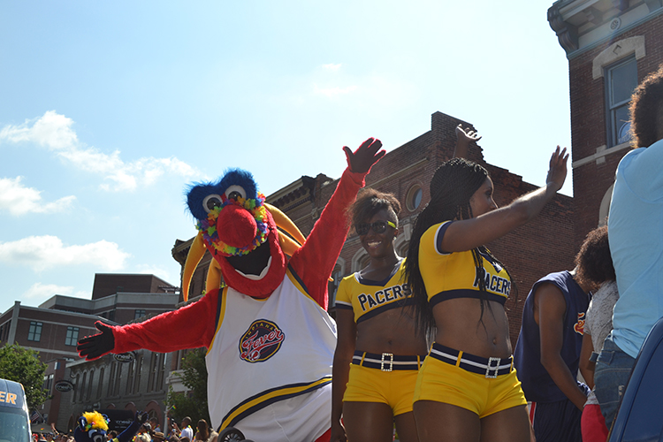 Fever Show Support at IN Pride Parade