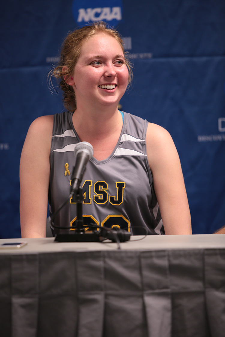 Lauren Hill's last game