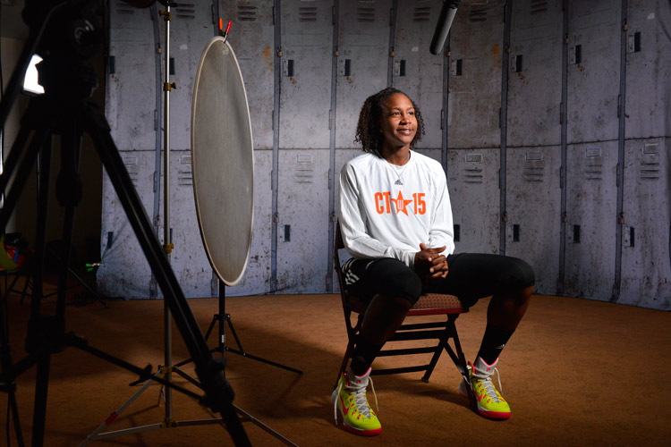 Tamika Catchings WNBA All-Star