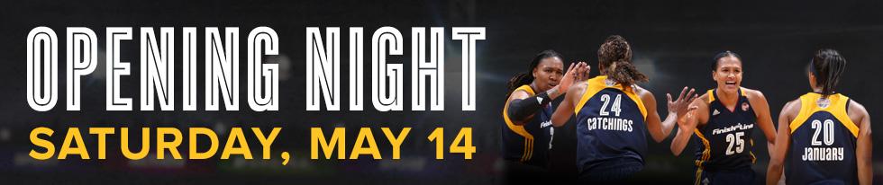 Indiana Fever Opening Night