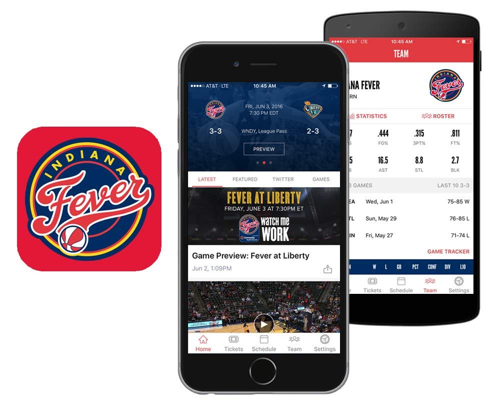 Indiana Fever Official Team App