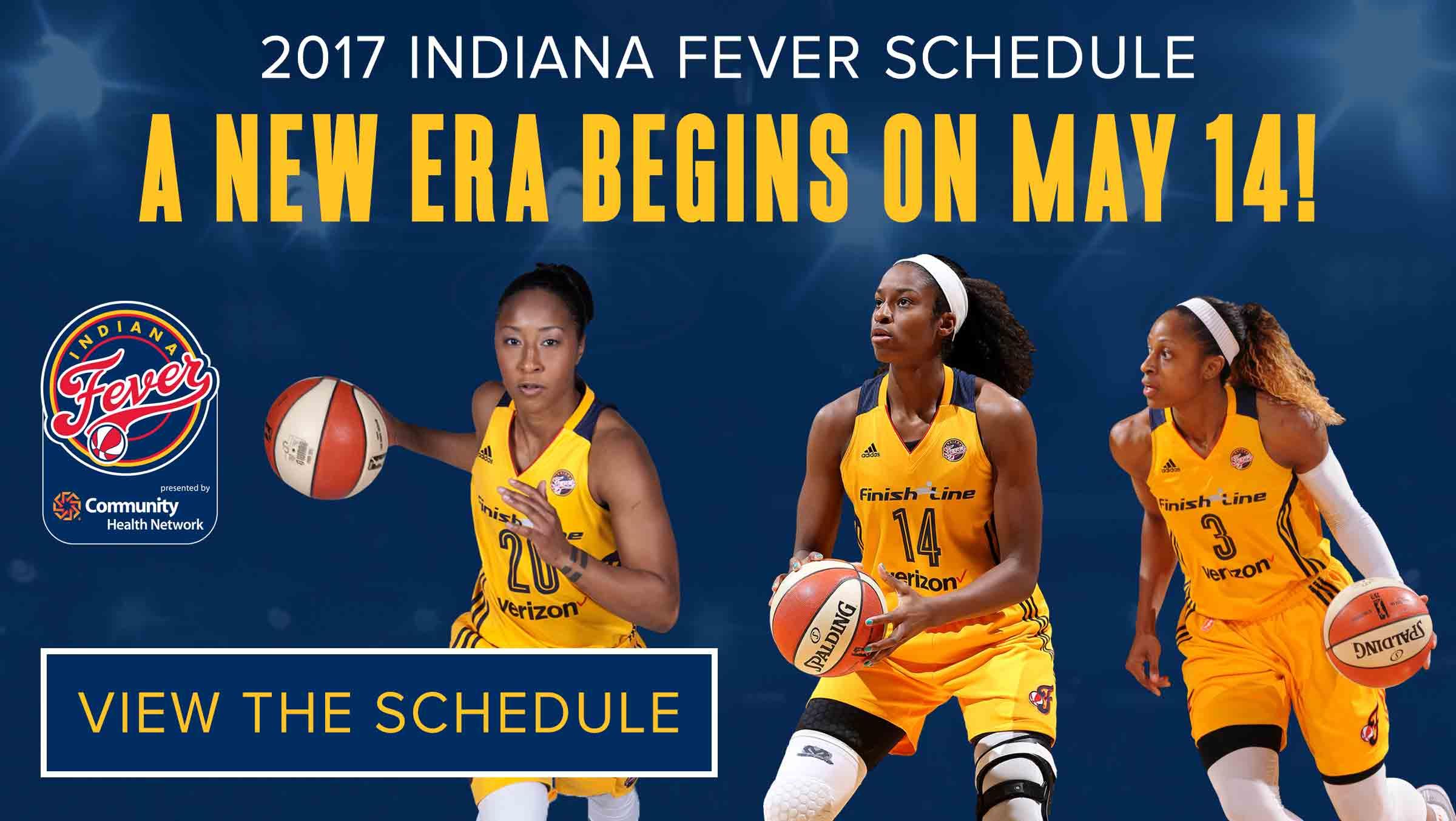 2017 Indiana Fever Schedule