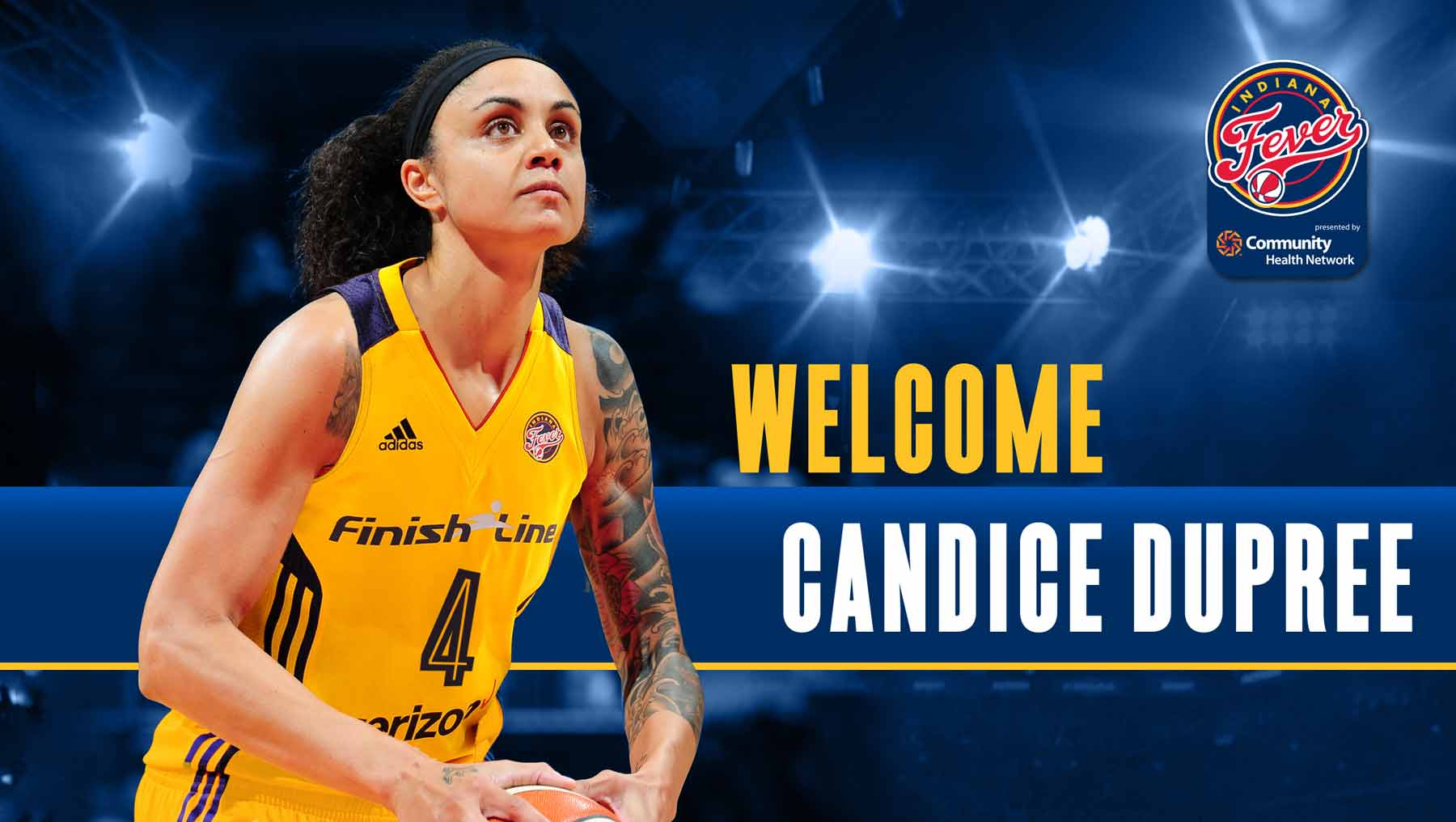 Welcome! Candice Dupree