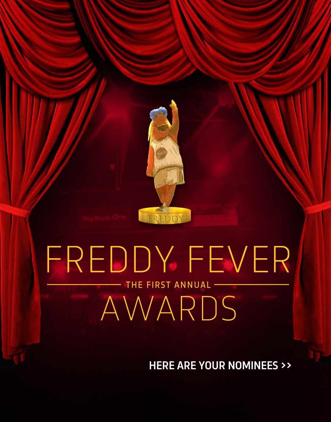 2016 Freddy Fever Awards: Nominees