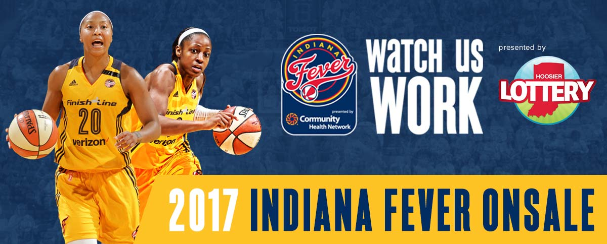 2017 Indiana Fever Onsale presented by Hoosier Lottery