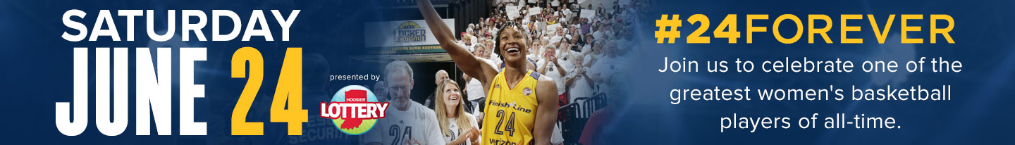 Tamika Catchings' Jersey Retirement presented by Hoosier Lottery