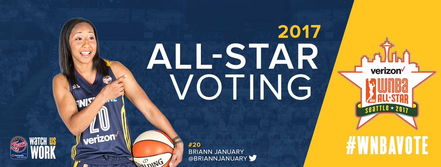 WNBA All-Star 2017 Vote