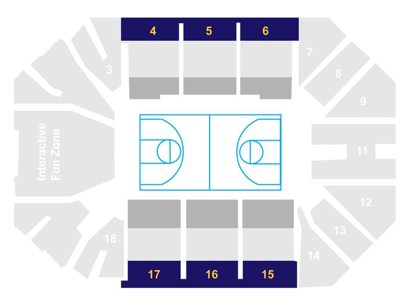Pride Code D Seat Map